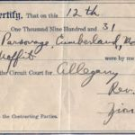 Harvey_Devigne_Margaret_Moffit_Marriage_Cert